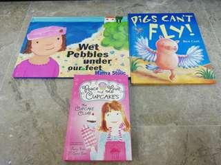 Hard cover children books