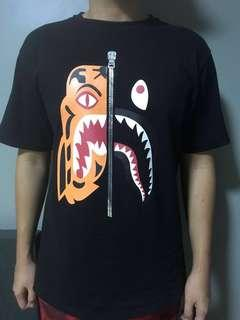 Bape Tiger Shark Tee