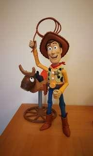 Toy story胡迪 騎馬玩具 購自西班牙 Disney Mattel CKC56 Toy Story Bull Riding Woody Figure