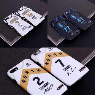 🏀預購款式🏀NBA Mavericks Hawks Raptors City Jersey iPhone case鷹隊 速龍 獨行俠手機殼