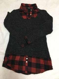 🚚 格紋毛衣