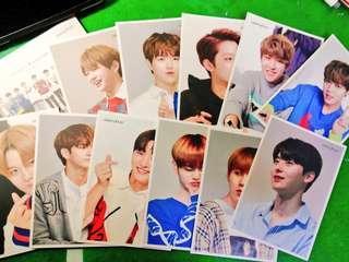 Wanna One X Innisfree Fansign Postcard