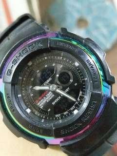Casio  g shock 幻彩圈