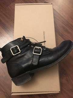 leather booties size 7