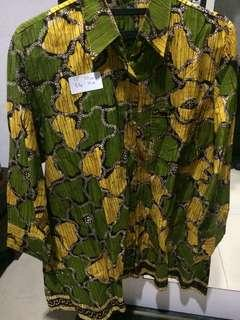 Baju Batik/Atasan Batik Big Size Jumbo Wanita #12