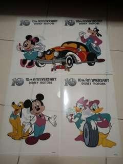 Single L Folder - Disney Motors 10th Anniversary