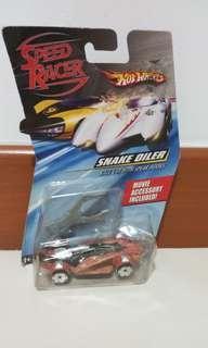 Hotwheels speed racer, snake oiler