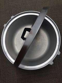 Cooking rice pot