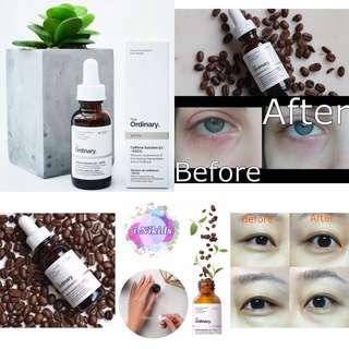 ⚡️快閃團 - 原裝正貨 - 🇨🇦 加拿大 The Ordinary Caffeine Solution 5% + EGCG 咖啡因眼部去腫去黑色素精華 30ml