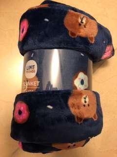 Line friends 熊大blanket 毛毯