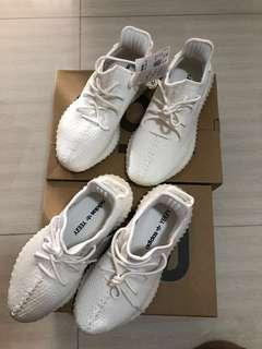 Want to trade my brand new yeezy creams for your kaws sesame street plush full set