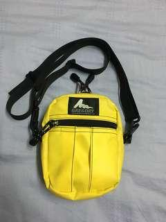 Gregory Quick Pocket Size S Made In USA Yellow