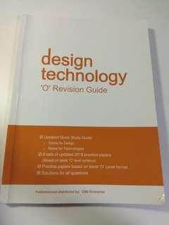 Design technology 'O' revision guide