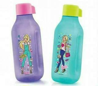 barbie bottle 1 liter  2 pcs - Tupperware