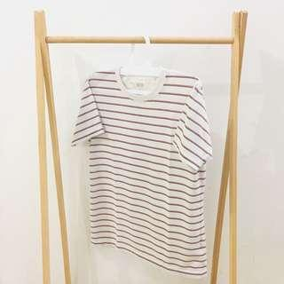 Striped t-shirt by UNIQLO