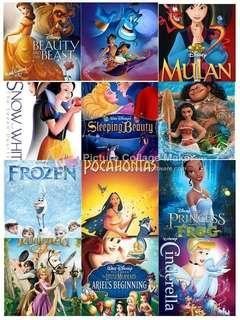 Disney princess movie collection usb16Gb #blackfriday100
