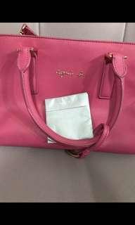 95% new Agnes b pink bag