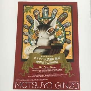 Wachifield 達洋貓 日本宣傳紙