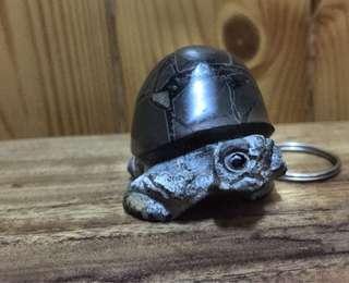 龜甲石福龜鑰匙圈