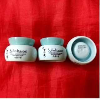 Sulwhasoo Samples (Each $25)