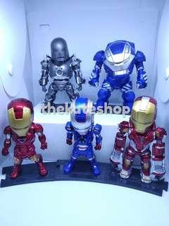 Ironman figures set