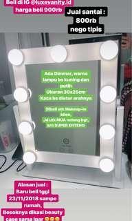 Vanity Mirror KACA LAMPU MAKEUP