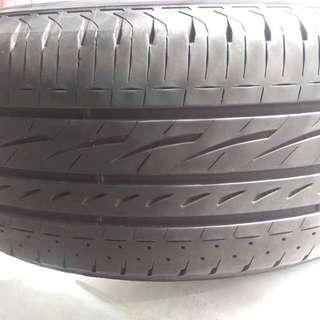 80% TYRES BRIDGESTONE 4PCS 205/55R17 YEAR 06.2016