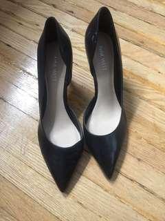 Nine West black heels 8/9