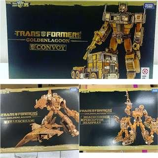 Takara Transformers Golden Lagoon set