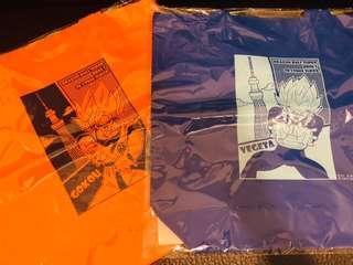 龍珠東京晴空塔sky tree限定版環保購物袋 dragon ball