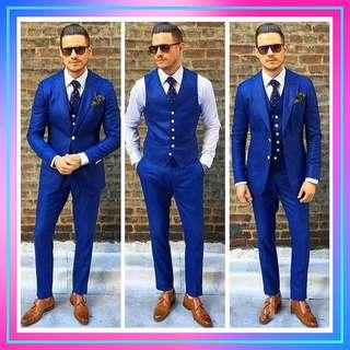🚚 #[21]🌹⏺🅿🅾⏺🌹2018 Mens Suit Three Piece Wedding Tuxedos