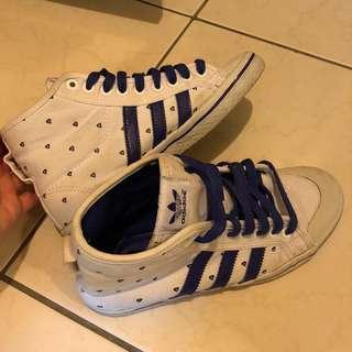 🚚 💜Adidas紫鑽石中筒鞋