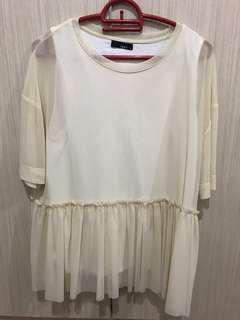 Babydoll loose fit blouse