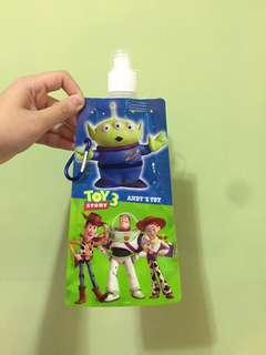 迪士尼 正版 玩具總動員 袋水壺