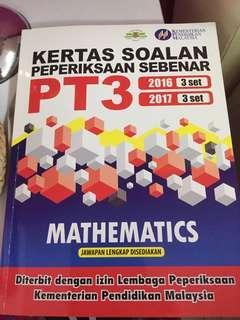 Mathematics-soalan peperiksaan sebenar 2016, 2017 pt3