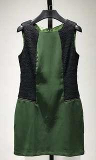 Nice shiny satin dress Size M 99%new