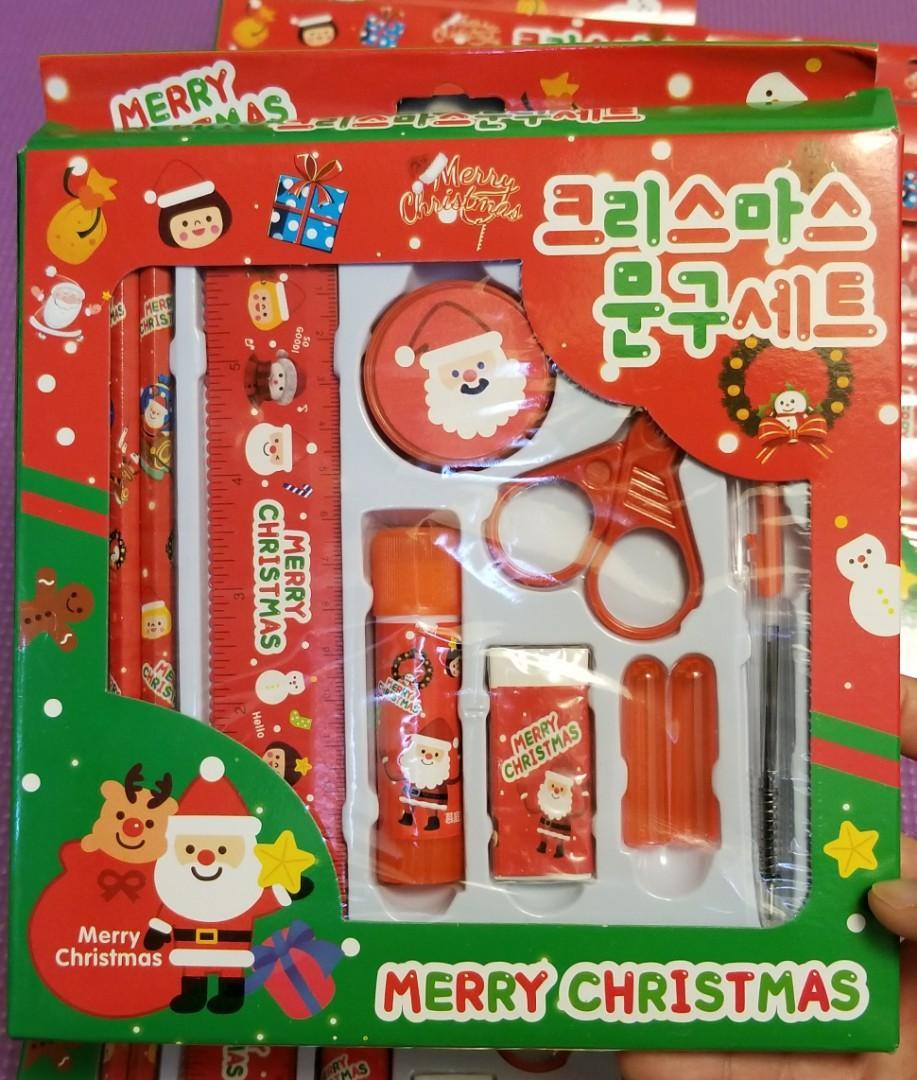 聖誕小禮物 韓式文具 套裝