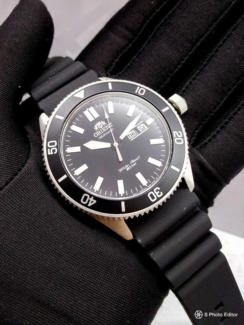 21e32160b6 FREE DELIVERY   Brand New 100% Authentic Orient Ray 2 Black Mens ...