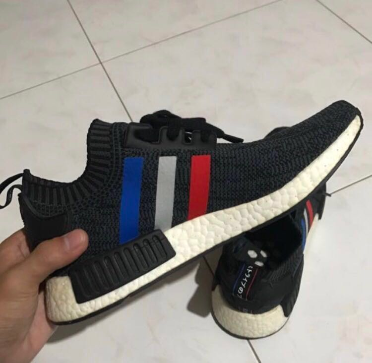 finest selection be923 eaf71 Adidas NMD Tricolor, Men s Fashion, Footwear, Sneakers on Carousell