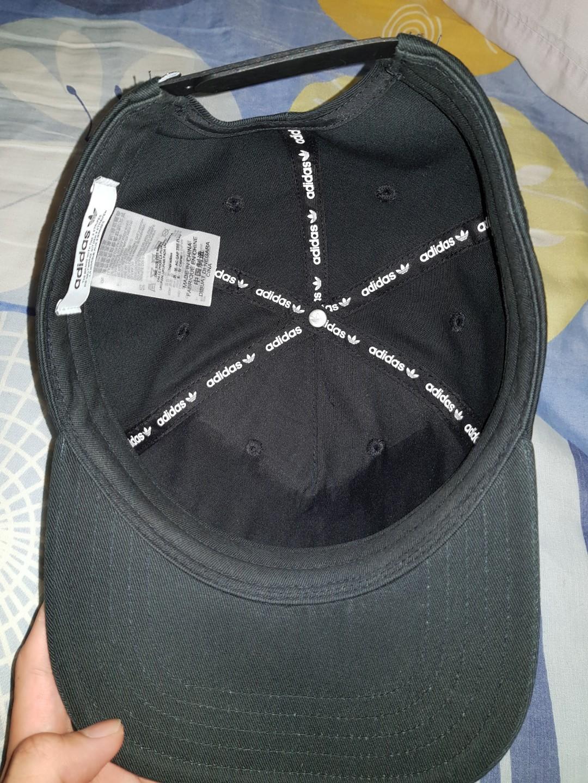 516708f7bea Adidas Originals TREFOIL SNAP-BACK CAP BLACK