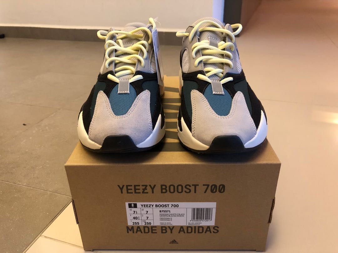 5f267687b08 Adidas Yeezy Boost 700 Wave Runner - Size UK 7 US7.5
