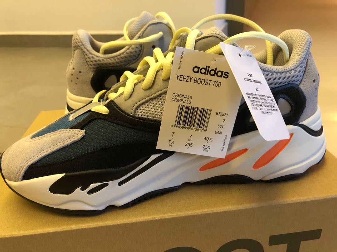 eb75f83fc56 Adidas Yeezy Boost 700 Wave Runner - Size UK 7 US7.5
