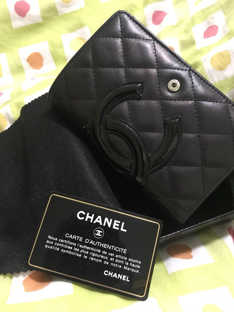 7c765b4c6873 Black Chanel Wallet With Pink Inside - The Best Wallet Produck