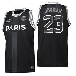 e388350839481a Authentic PSG x Jordan Mesh Top Jersey
