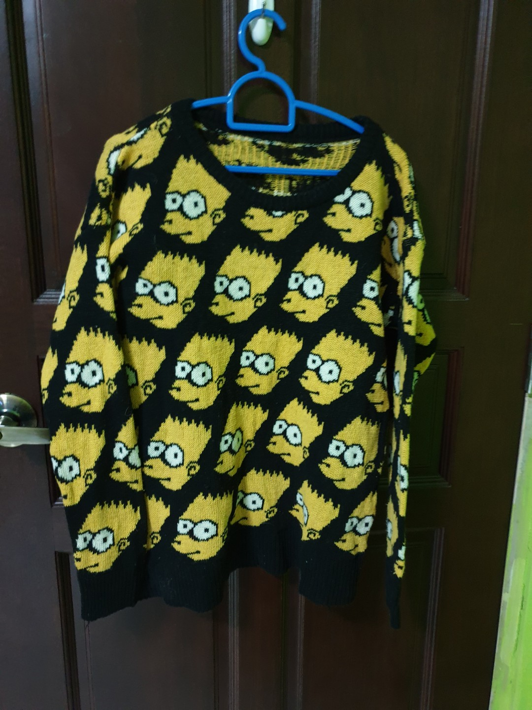 Bart Simpson Sweater Women S Fashion Clothes Tops On Carousell