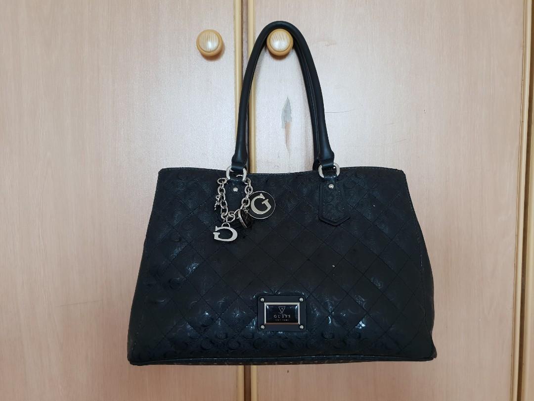 Big GUESS handbag, Women's Fashion, Bags