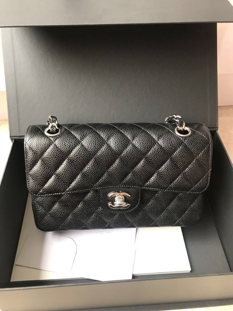 239c38230e72 Chanel classic small cavier, Luxury, Bags & Wallets, Handbags on ...