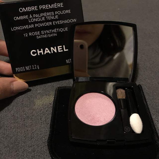 CHANEL Ombré Première Longwear Powder Eyeshadow (12 Rose Synthétique)