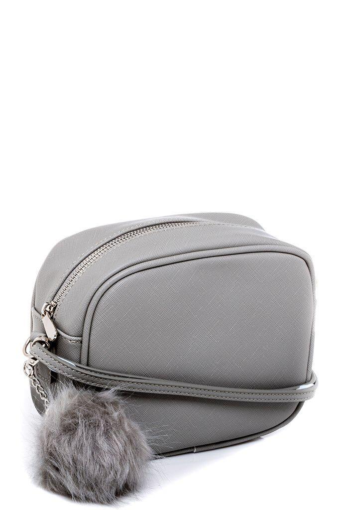 Colette grey box bag (used once)
