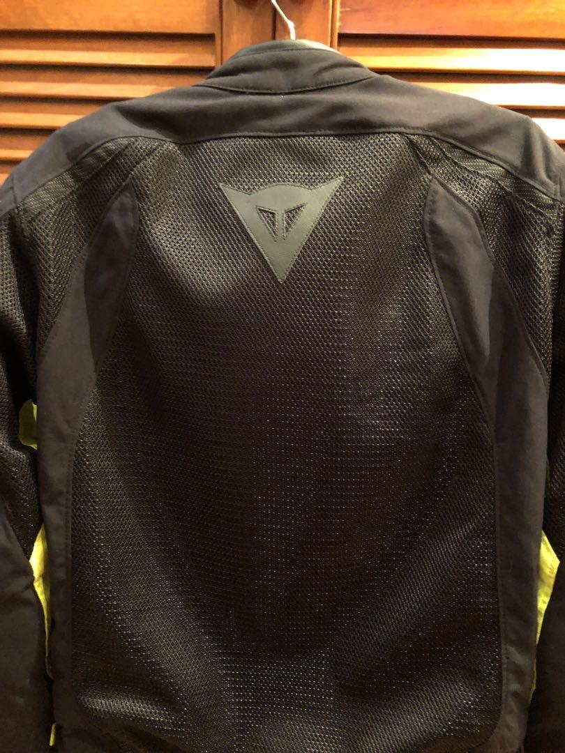 Dainese jacket with removable waterproof liner size 50